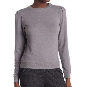 Joe's Jeans Black Ladies Knit Sweatshirt M L